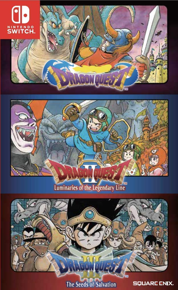 NS Dragon Quest 1 2 3 Collection NTSC