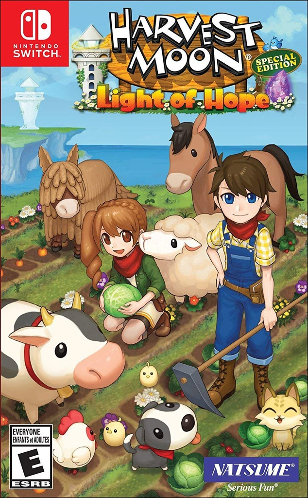 NS Harvest Moon: Light of Hope Special Edition NTSC