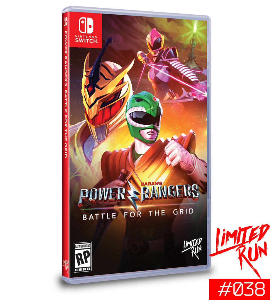 NS Power Rangers: Battle for the Grid NTSC