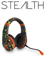 STEALTH XP-Vibe Flo Stereo Gaming Headset - Grey