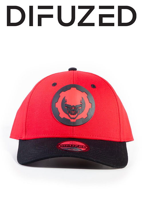 Gears Of War - Hydro Red Omen Adjustable Cap