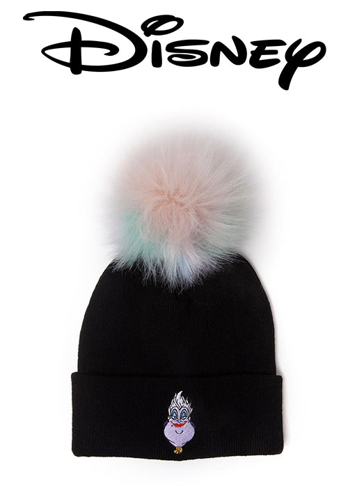 Disney - The Little Mermaid Ursula Beanie With Pom-pom Cap