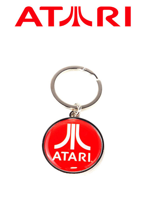 Atari - Metal Keychain With Enamel