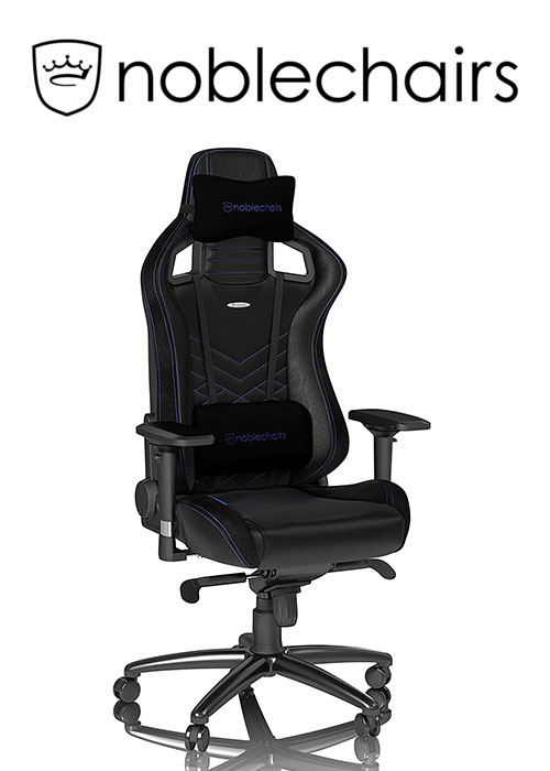 Noblechairs EPIC Series - Black/Blue