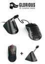 Glorious Model O RGB Gaming Mouse - Matte Black + Free Bungee