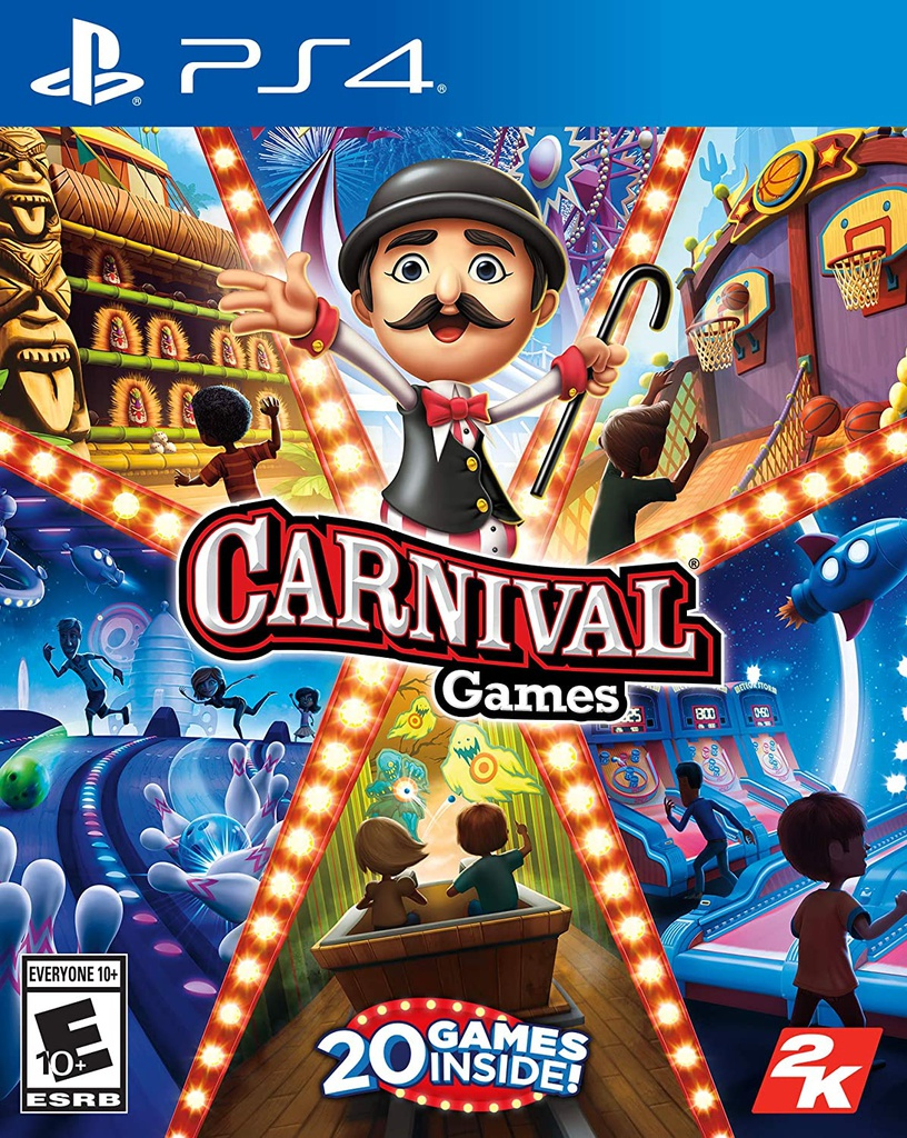 PS4 Carnival Games R1
