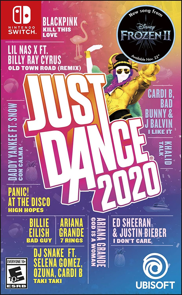 NS Just Dance 2020 NTSC