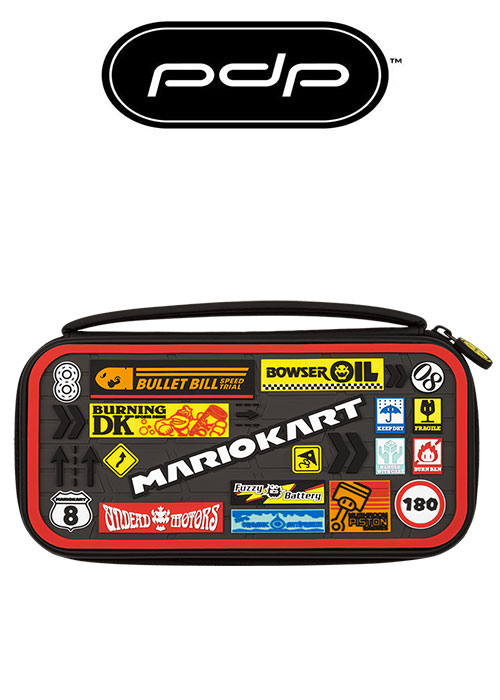 PDP NS Deluxe Console Case Mario Kart Edition