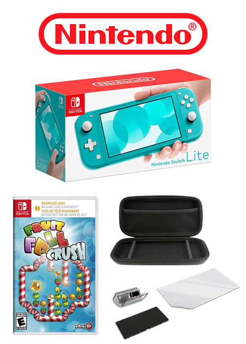 NS Console Lite Turquoise + 2 Free Gift