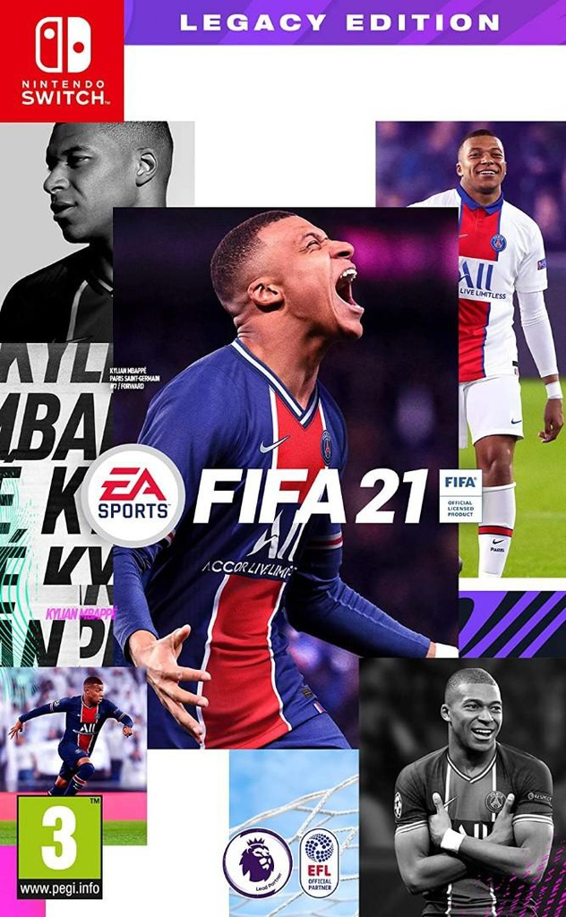 NS FIFA 21 - Legacy Edition PAL