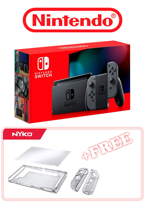 NS Console Grey (Extended Battery) + Free Gift