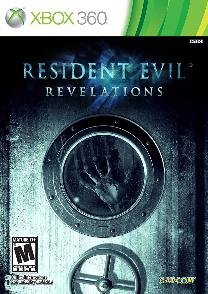 XBOX360 Resident Evil Reveations NTSC