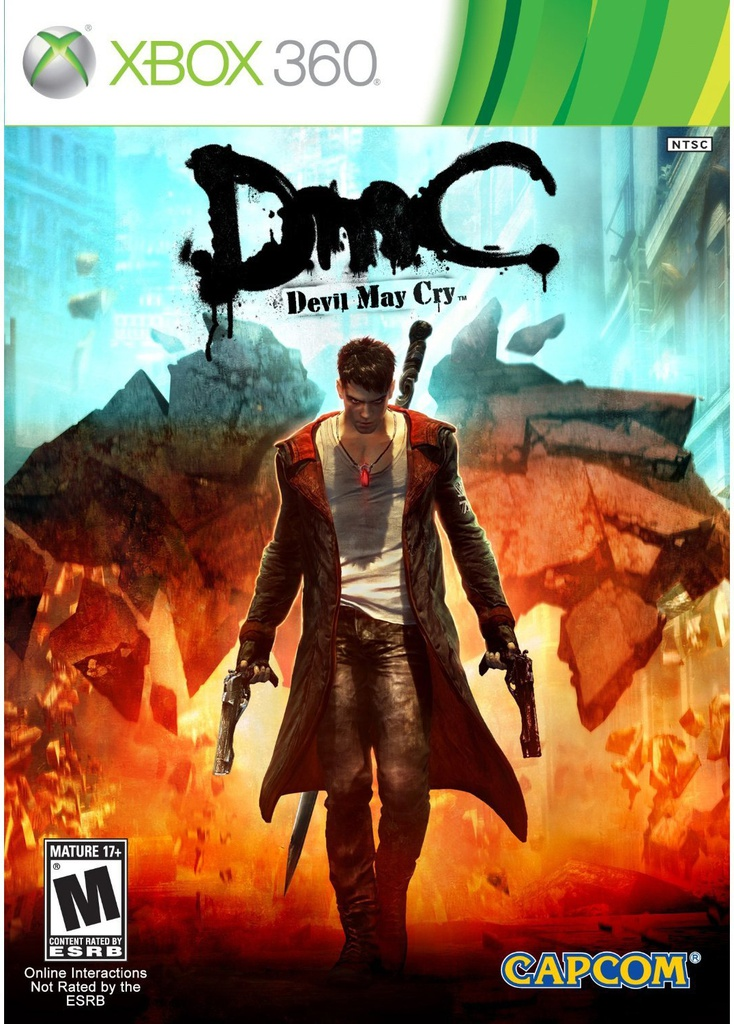 XBOX360 DMC Devil May Cry NTSC