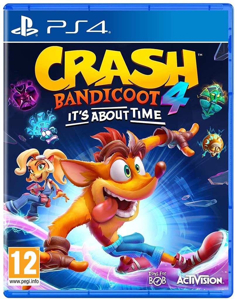 PS4 Crash Bandicoot 4 Its About Time R2 (Arabic)