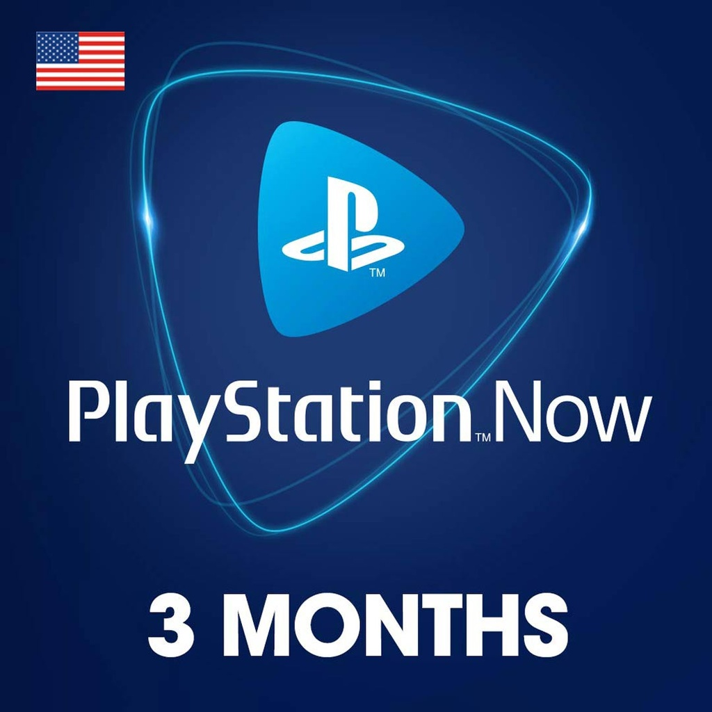 PlayStation NOW: 3 Month Membership - USA Account [Digital Code]