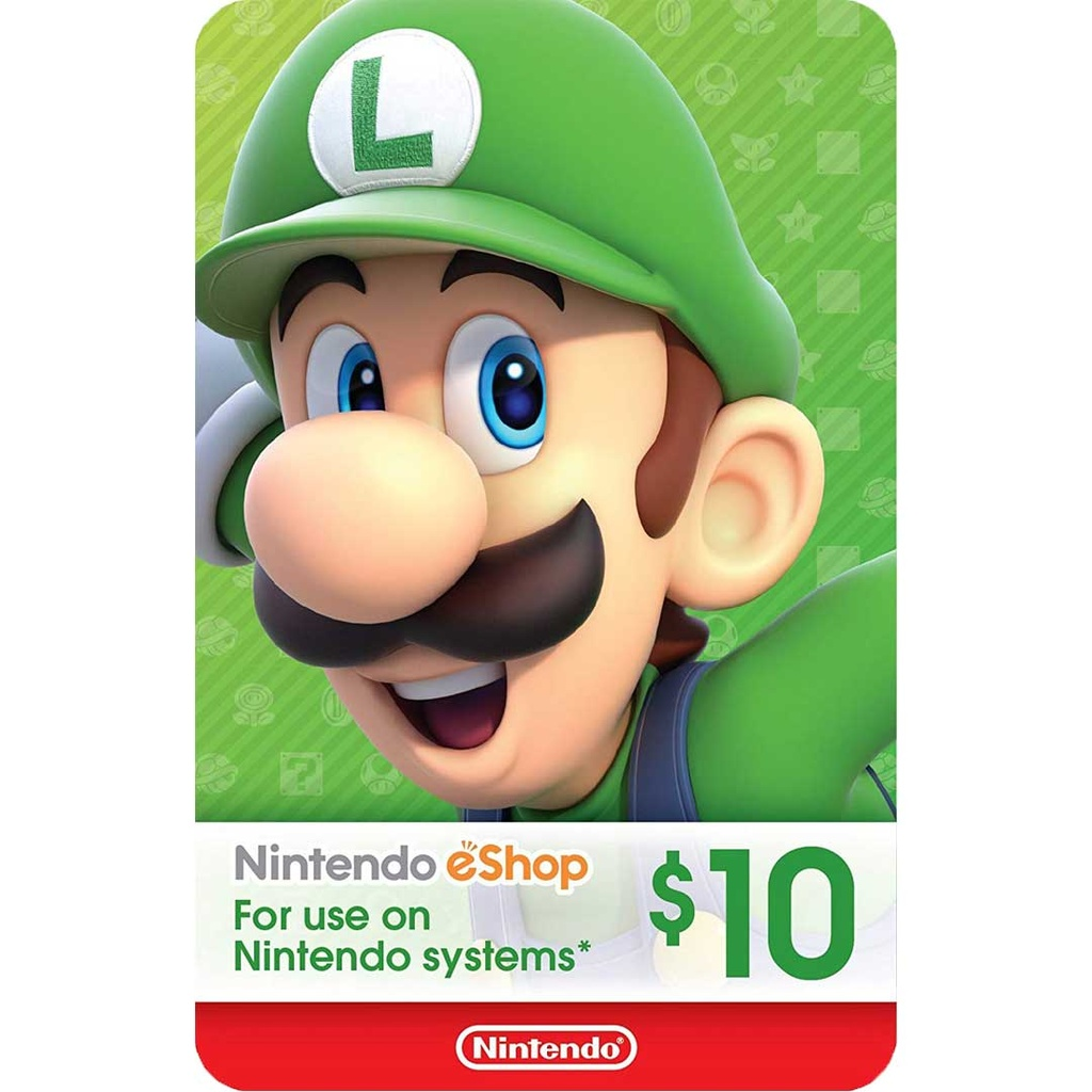 Nintendo eShop: 10$ - USA Account [Digital Code]