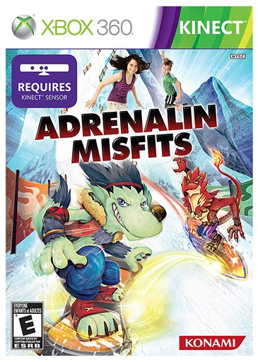 [503] XBOX360 Adrenalin NTSC