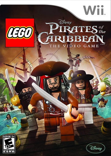[801] Wii Lego Pirates of the Caribbean