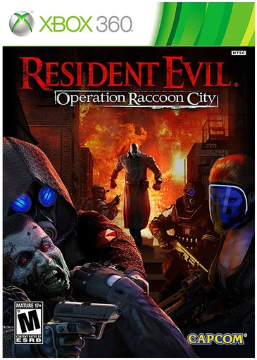 [1087] XBOX360 Resident Evil Raccoon City R1