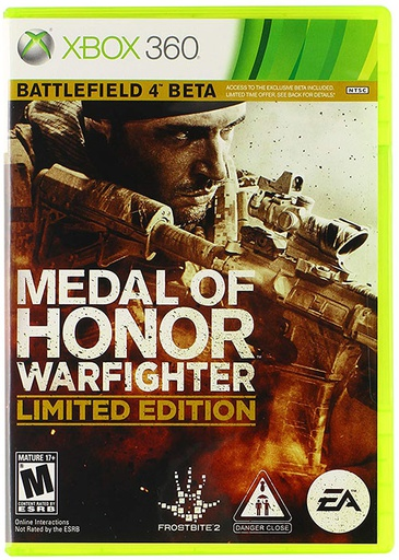 [1342] XBOX360 Medal of Honor Wafighter NTSC