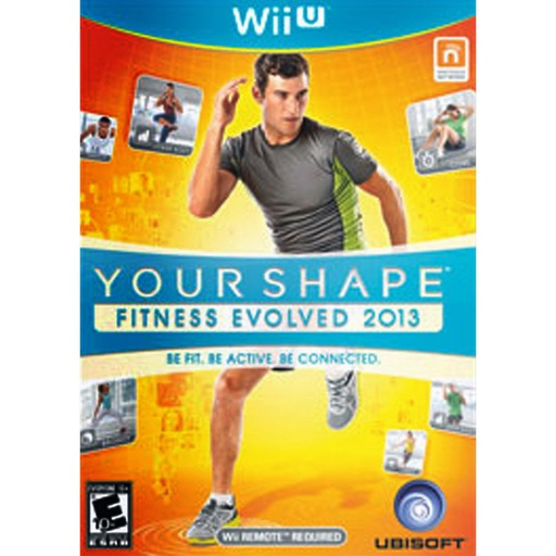 [1384] Wii U Your Shape Fitness Evolved 13 NTSC