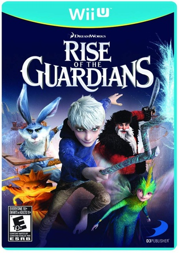 [1586] Wii U Rise of the Guardians NTSC