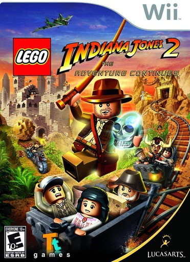 [1682] Wii Lego Indiana Jones 2 NTSC