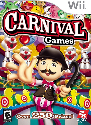 [1688] Wii Carnival Games NTSC