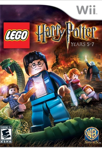 [1693] Wii LEGO Harry Potter: Years 5-7