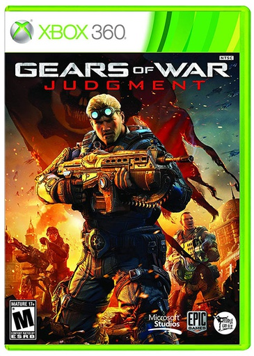[1814] XBOX360 Gears of War: Judgment R1
