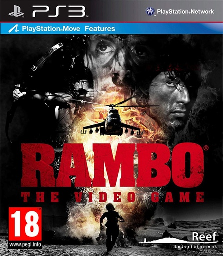 [22126] PS3 Rambo: The Video Game R2