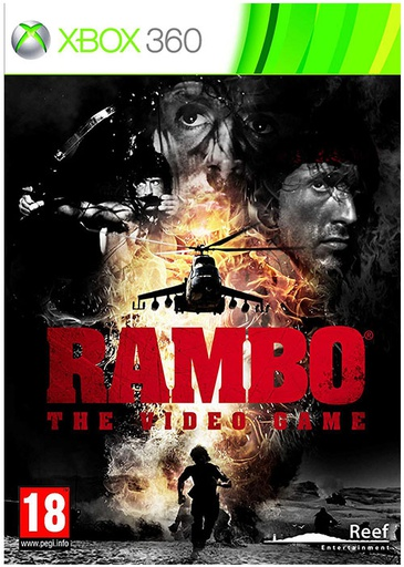 [22127] XBOX360 Rambo: The Video Game PAL