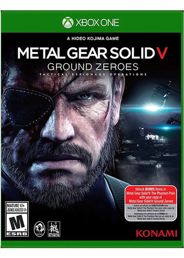 [22173] XB1 Metal Gear Solid V: Ground Zeroes NTSC
