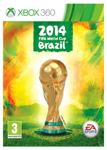 [22205] XBOX360 Fifa World Cup 2014 PAL