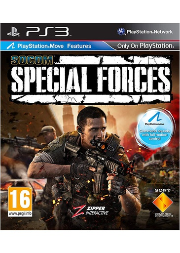 [42430] PS3 SOCOM: Special Forces with Wireless Headset R2