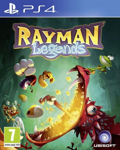 [72666] PS4 Rayman Legends R2