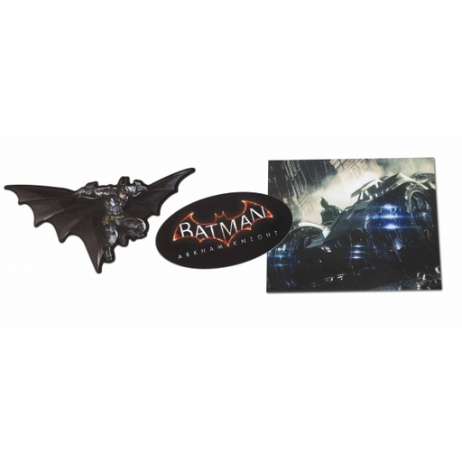 [82714] PS4 Stickers Console Pack of Four (Batman)