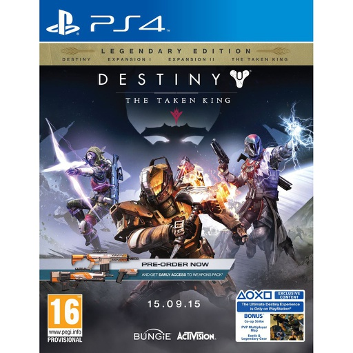 [132771] PS4 Destiny The Taken King R2