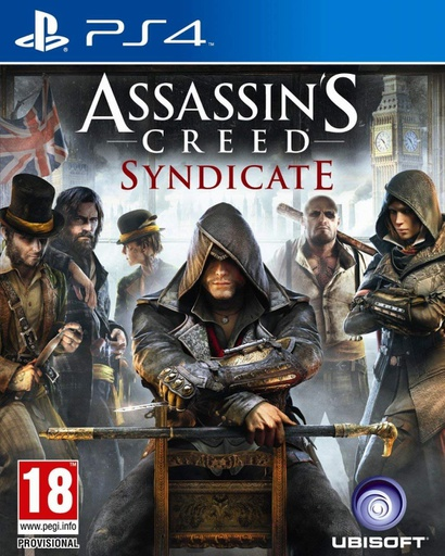 [132798] PS4 Assassin's Creed Syndicate (Arabic) R2