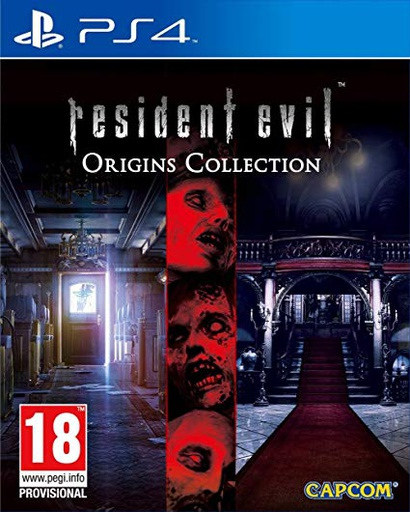 [142844] PS4 Resident Evil Origins Collection R2