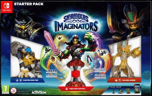 [183258] NS Skylanders Imaginators Starter Pack PAL
