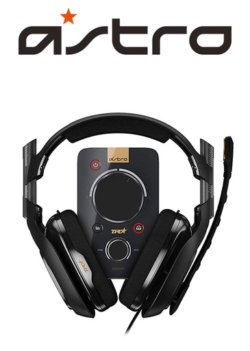 [203369] ASTRO PS4 A40 TR Headset + MixAmp Pro Black