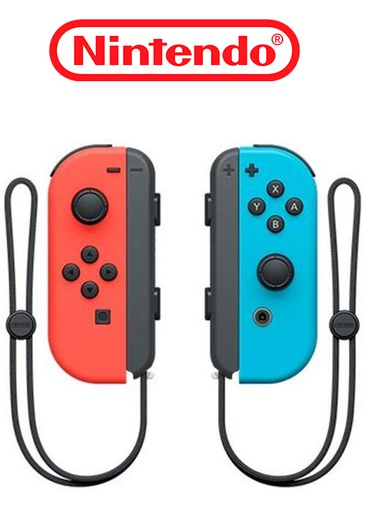 [203388] NS Joy-Con Neon Red/Blue