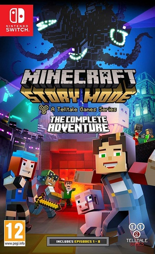 [203463] NS Minecraft Story Mode: The Complete Adventure PAL