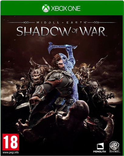 [203511] XB1 Middle-Earth: Shadow Of War PAL (Arabic)