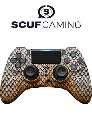 [203738] Scuf PS4 Controller Impact Dragon Gold