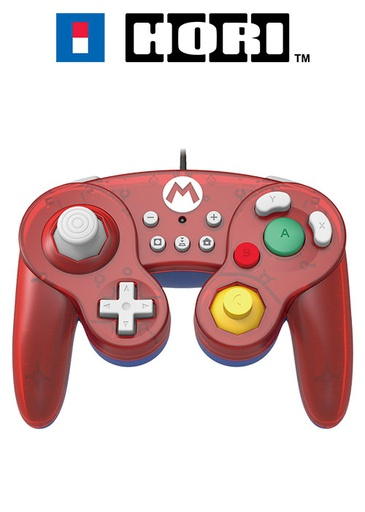 [203938] HORI NS Battle Pad Super Mario Edition Wired Controller