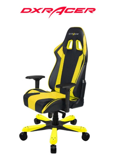 [204151] DXRACER CHAIR KING BLACK/YELLOW