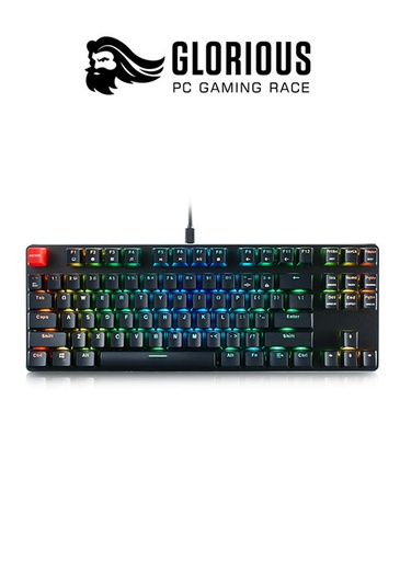 [204254] Glorious Keyboard TKL- PreBuilt - Black