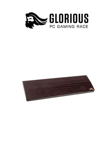 [204261] Glorious Keyboard Wrist Rest Compact - Wood - Onyx
